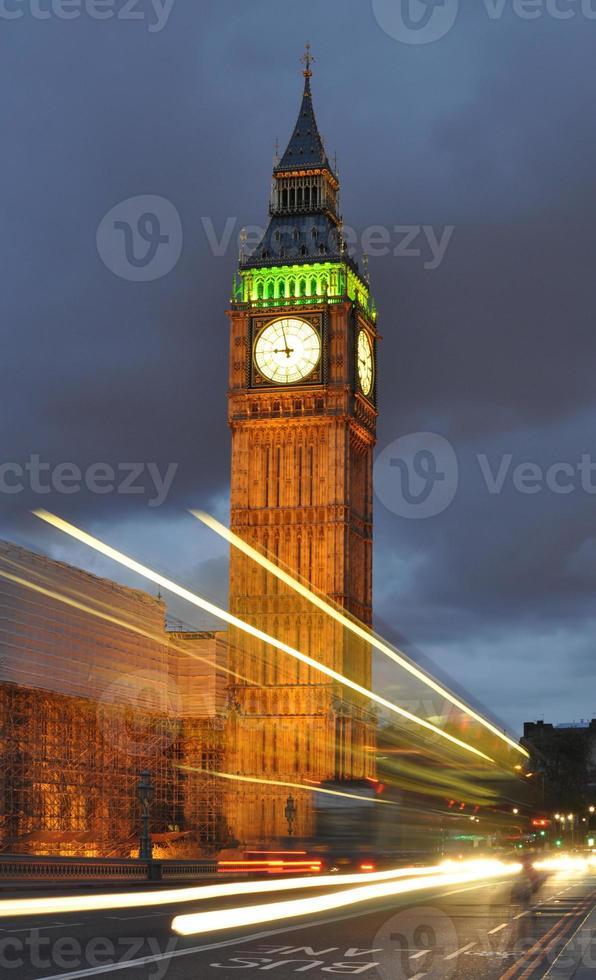 Big Ben at night photo
