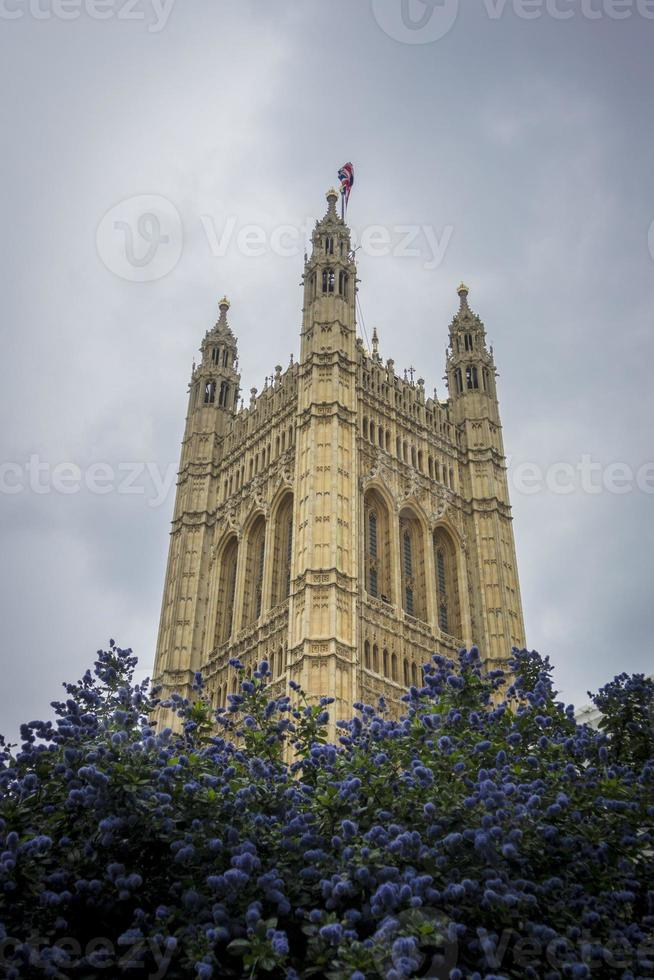 Victoria Tower, Houses of Parliament, London, UK photo