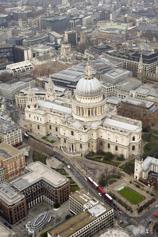 Aerial Shot of St. Paul's Cathedral photo