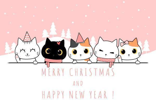 Cute Cat Family Cartoon Doodle Pastel Wallpaper Download Free Vectors Clipart Graphics Vector Art