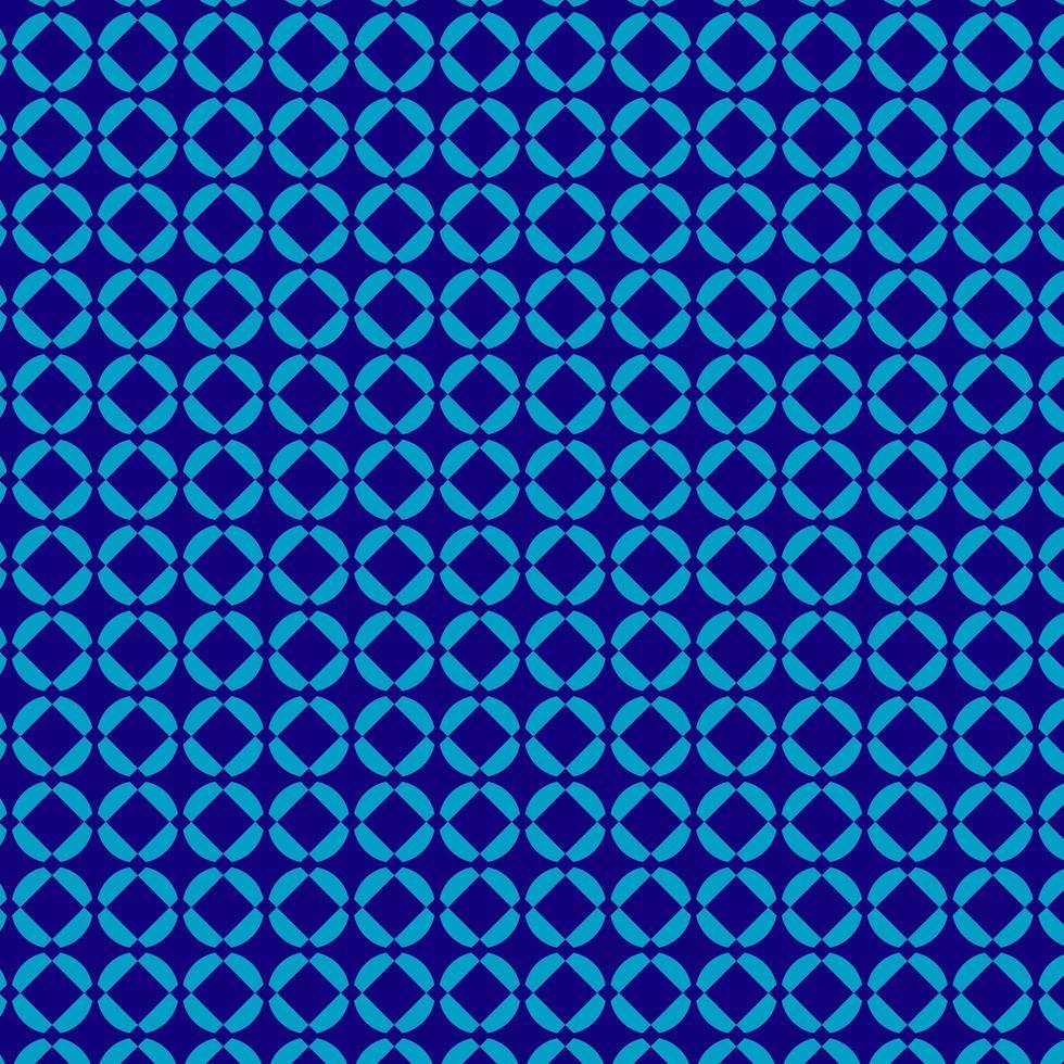 plantilla de diseño azul bonito patrón vector
