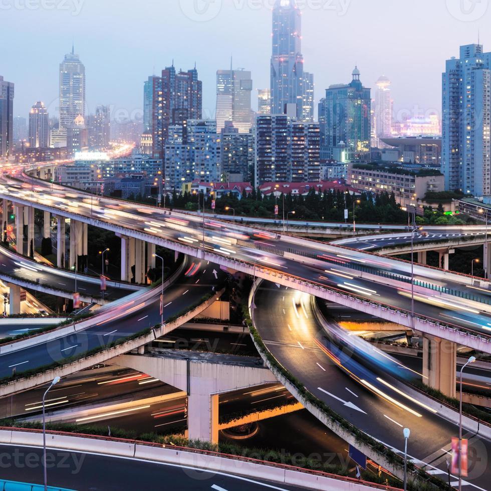 paso elevado de Shangai foto