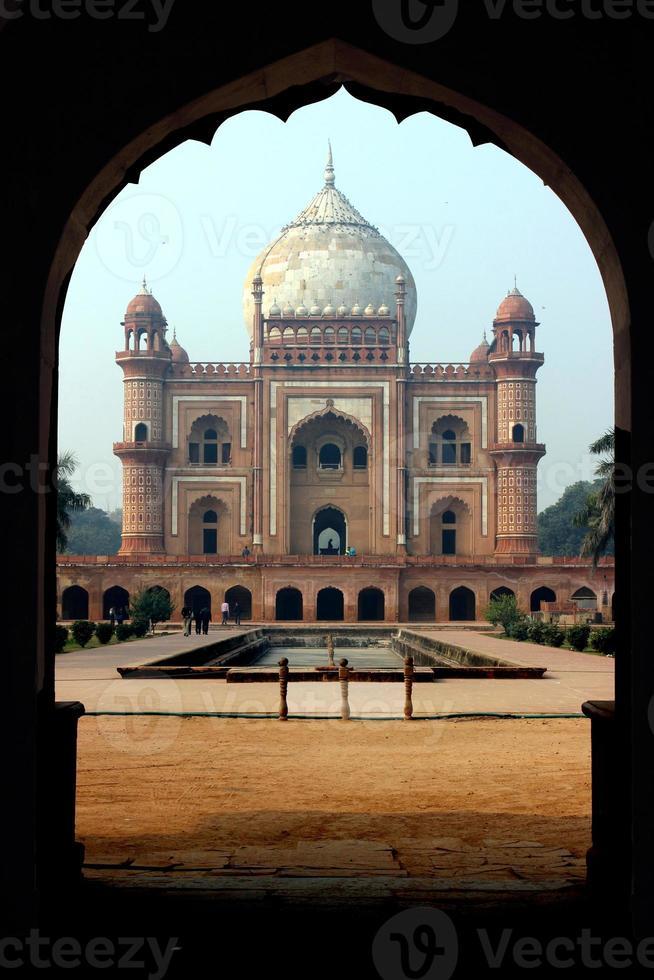 Tumba de safdarjang, nueva delhi, india foto