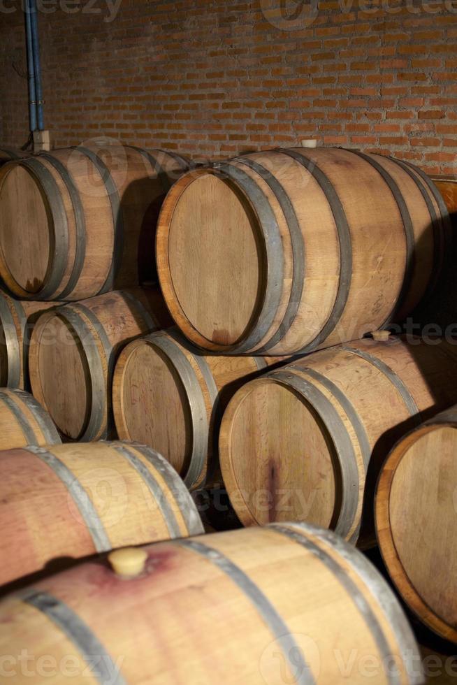 wooden wine tank photo
