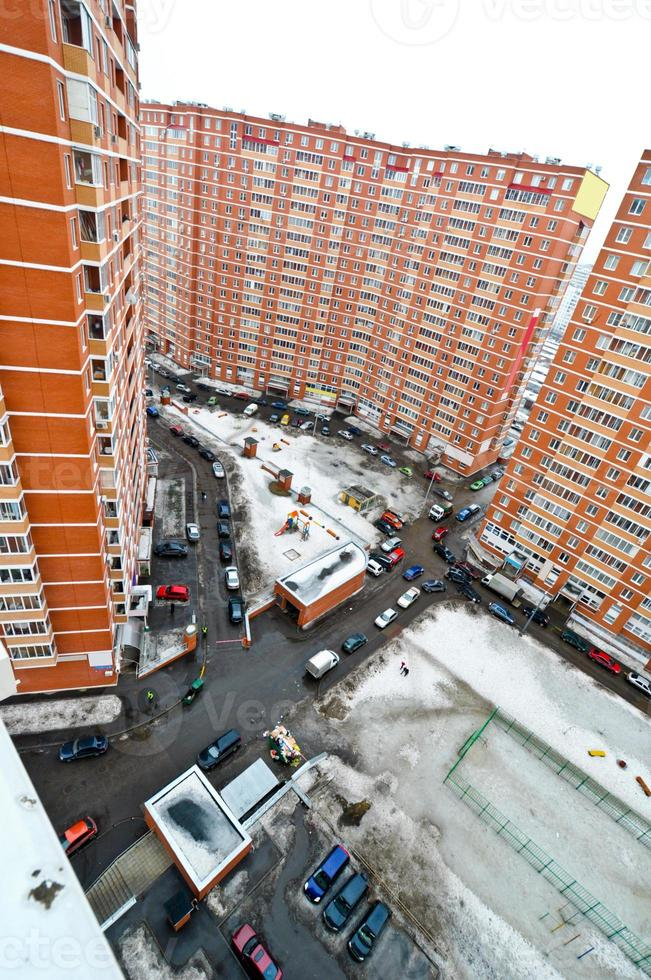 yard in an apartment block photo