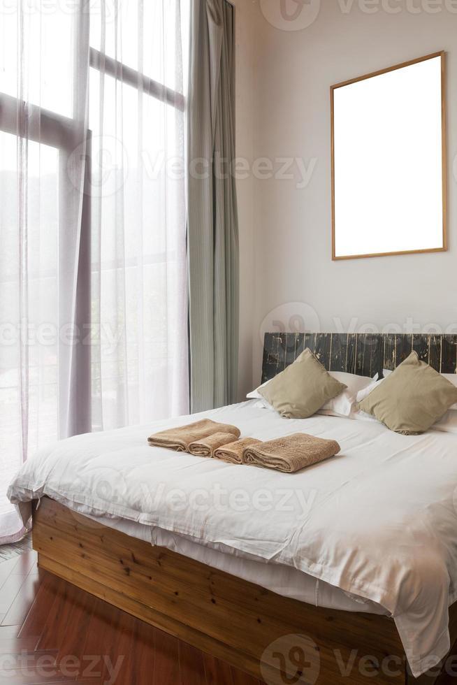 diseño de interiores: dormitorio clásico foto