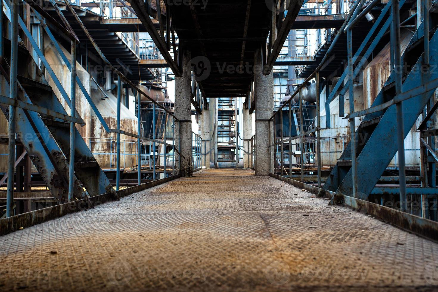 Abandoned steel mill photo