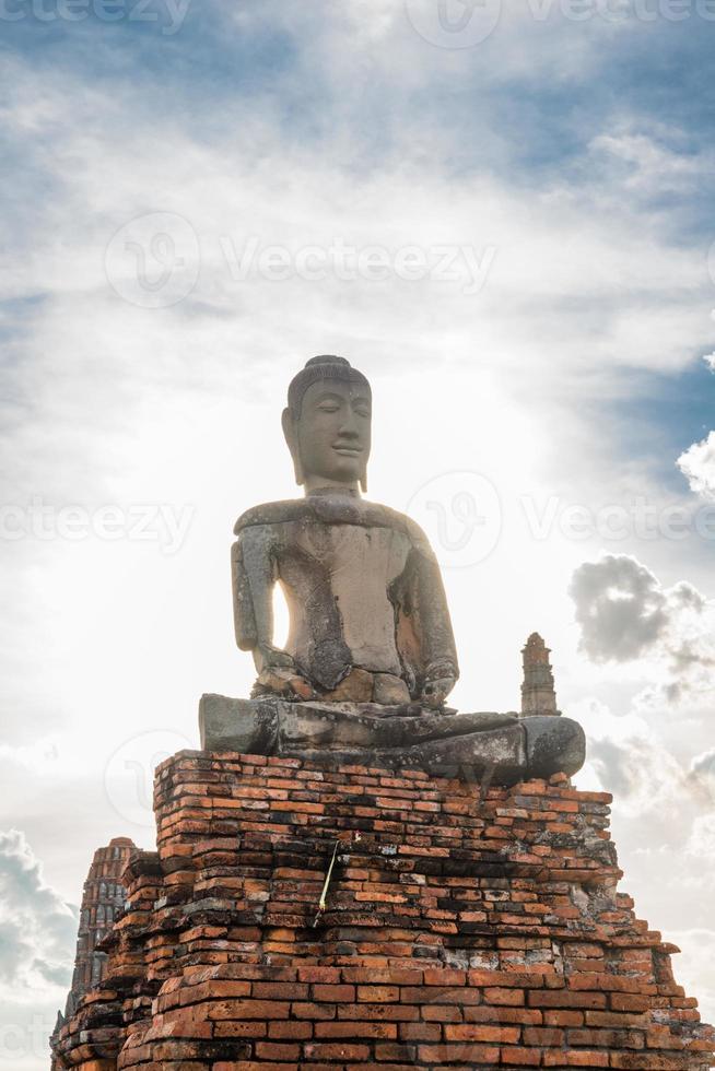 Chaiwattanaram temple photo