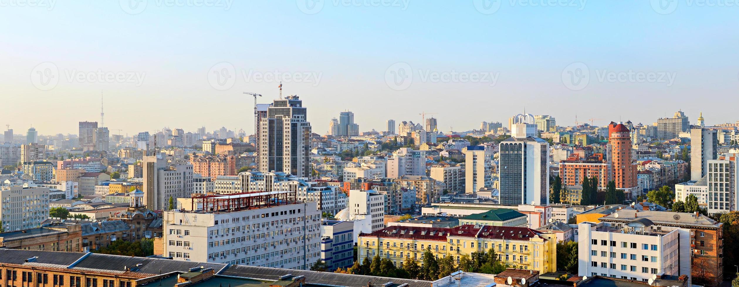 Horizonte de Kiev, Ucrania foto