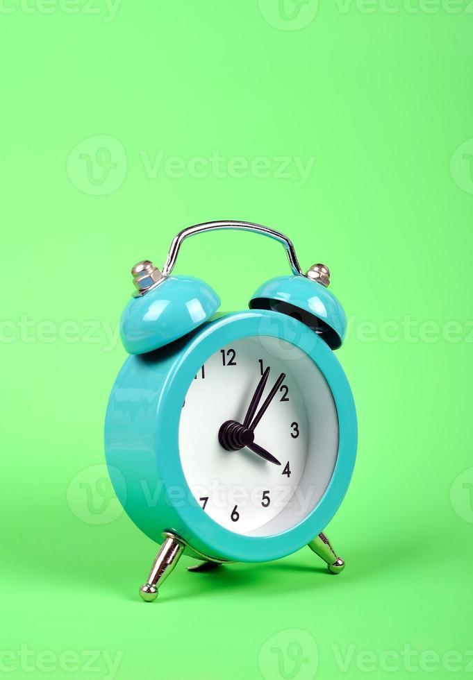 old style alarm clock photo