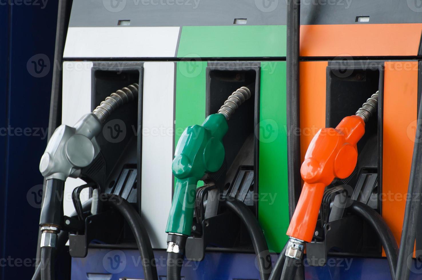 Fuel pump nozzles photo