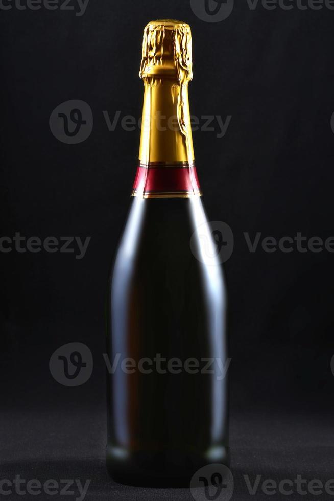 Botella de champagne foto