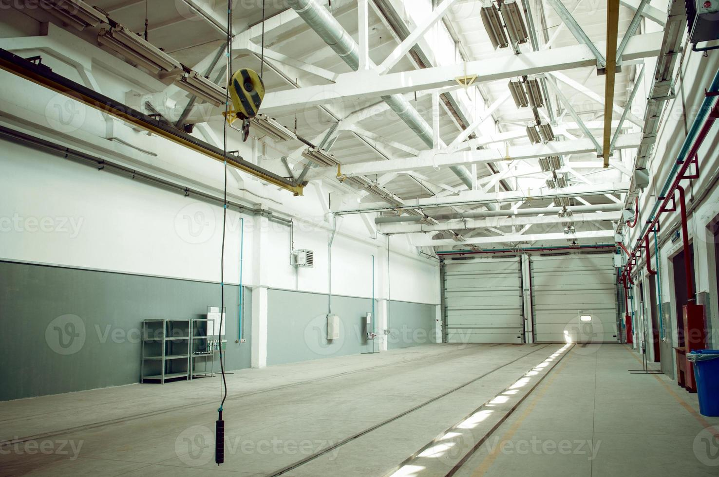 industrial warehouse interior photo