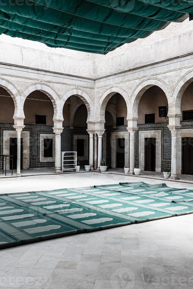 The Great Mosque of Kairouan, Tunisia, africa photo
