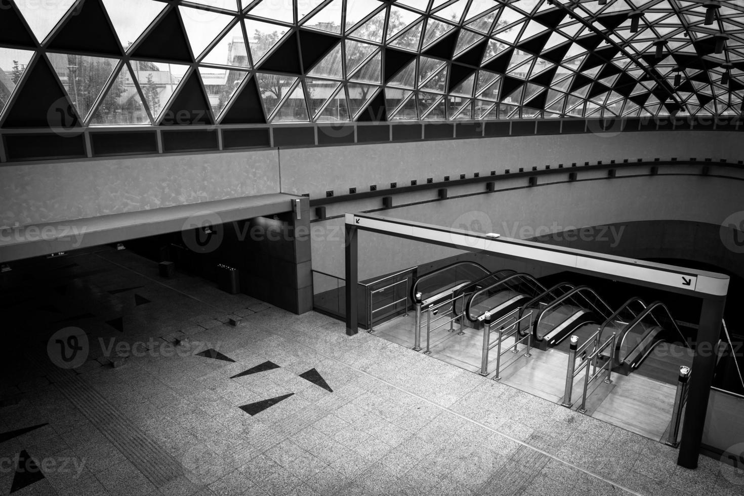 Modern metro interior photo