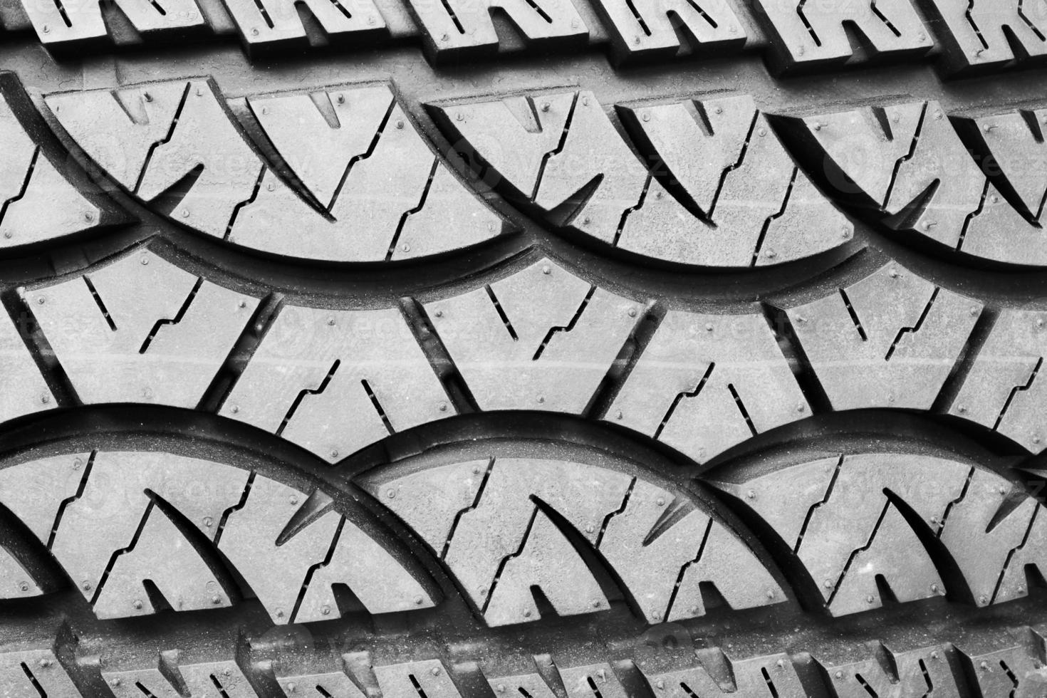 Neumático con textura de fondo. caucho foto
