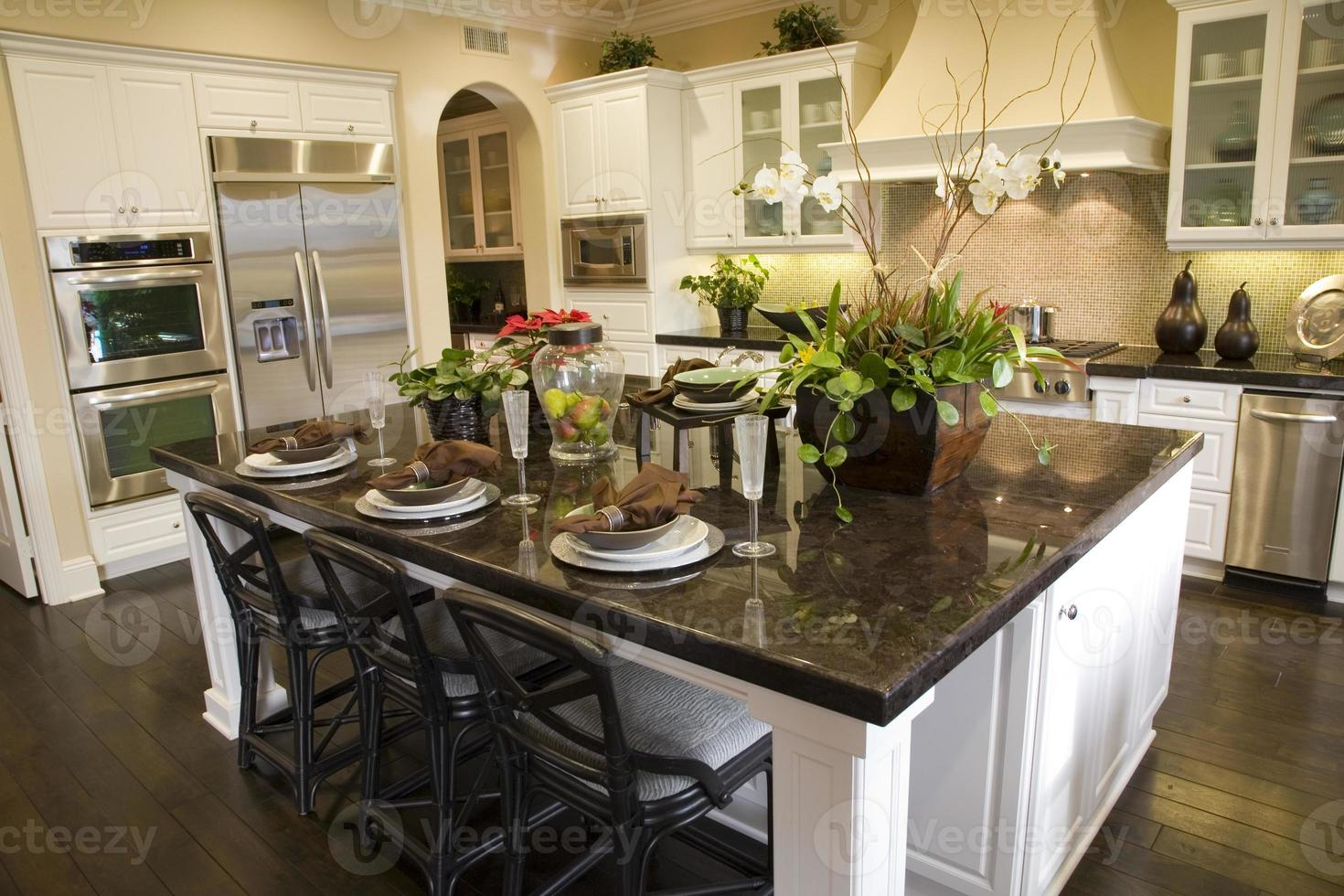 luxury home kitchen photo