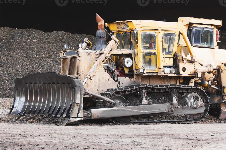 excavadora trabajando foto