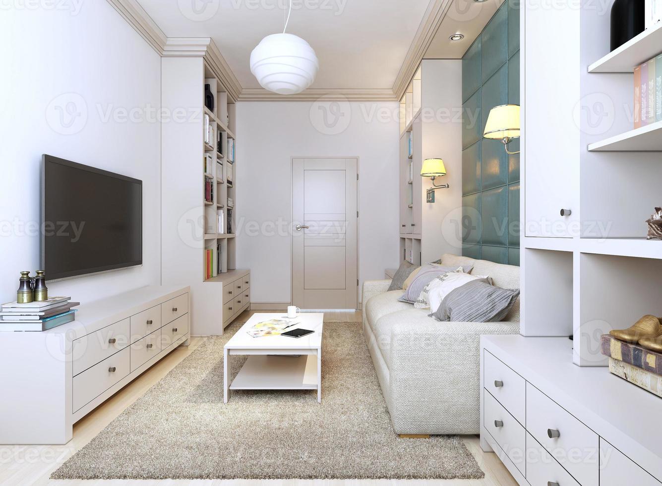 habitación de estilo contemporáneo foto