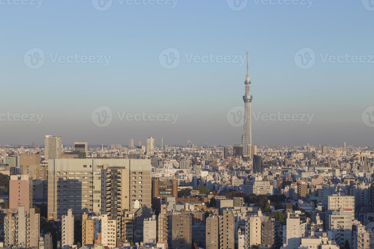ciudad de tokio, japón foto