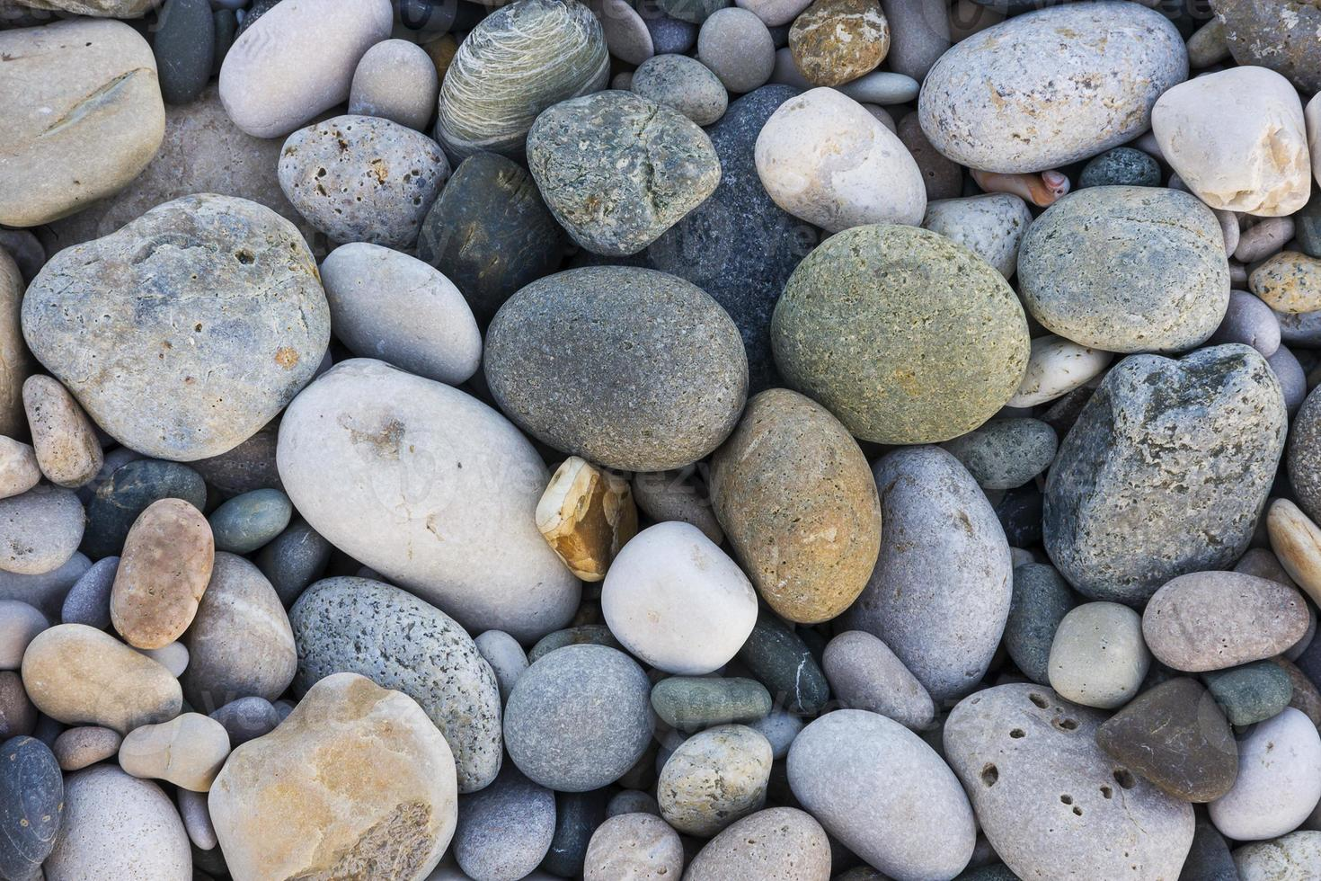 texture of the pebbles photo