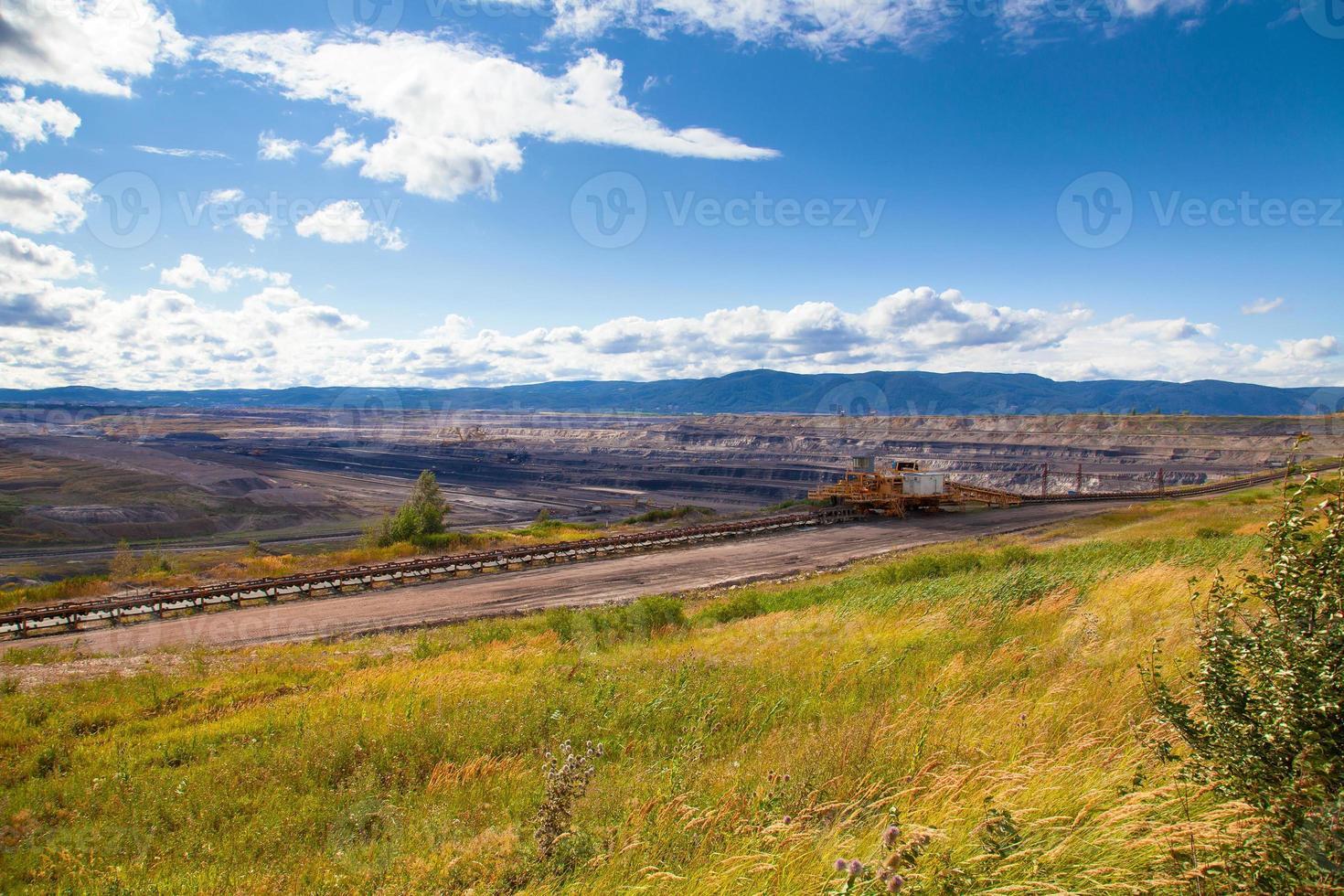 mina de carbón, sokolov, república checa foto