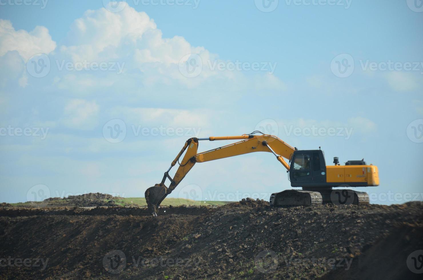 excavador foto
