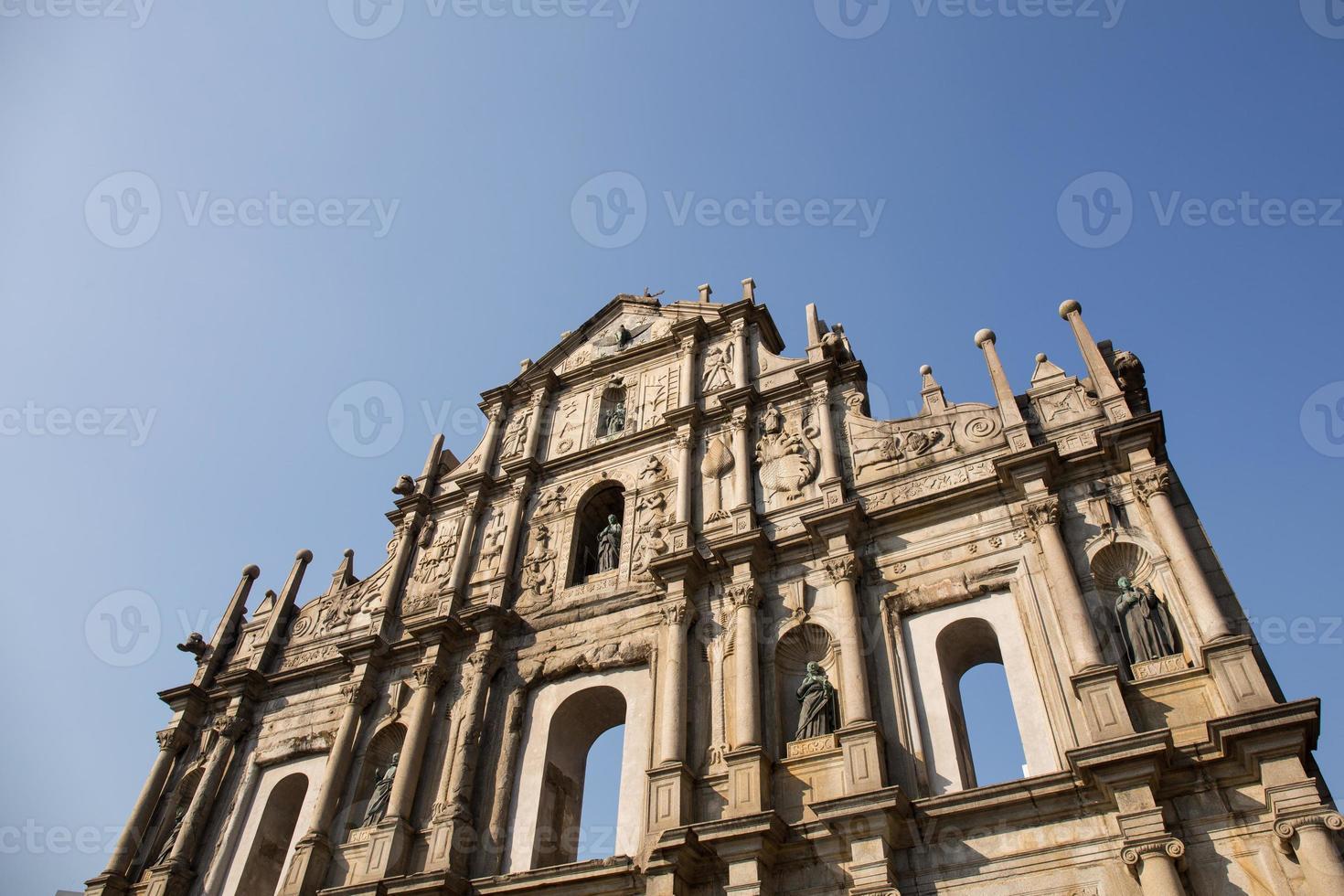 ruinas de st. Pablo foto