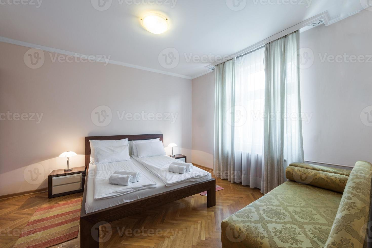 habitación de hotel foto