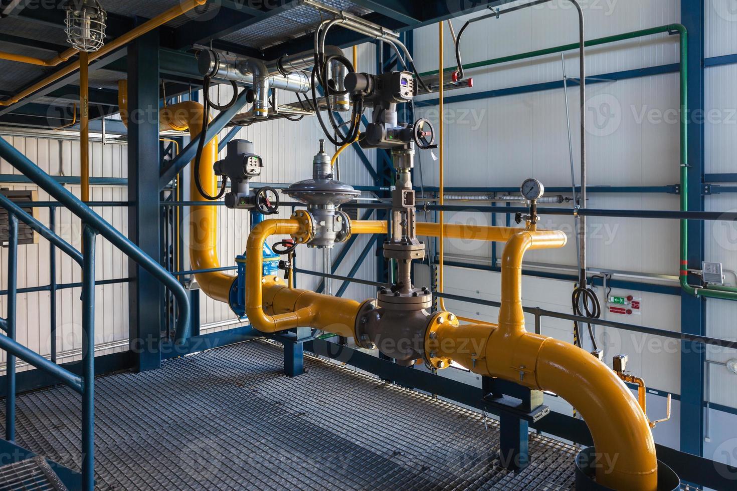 gas regulation unit photo