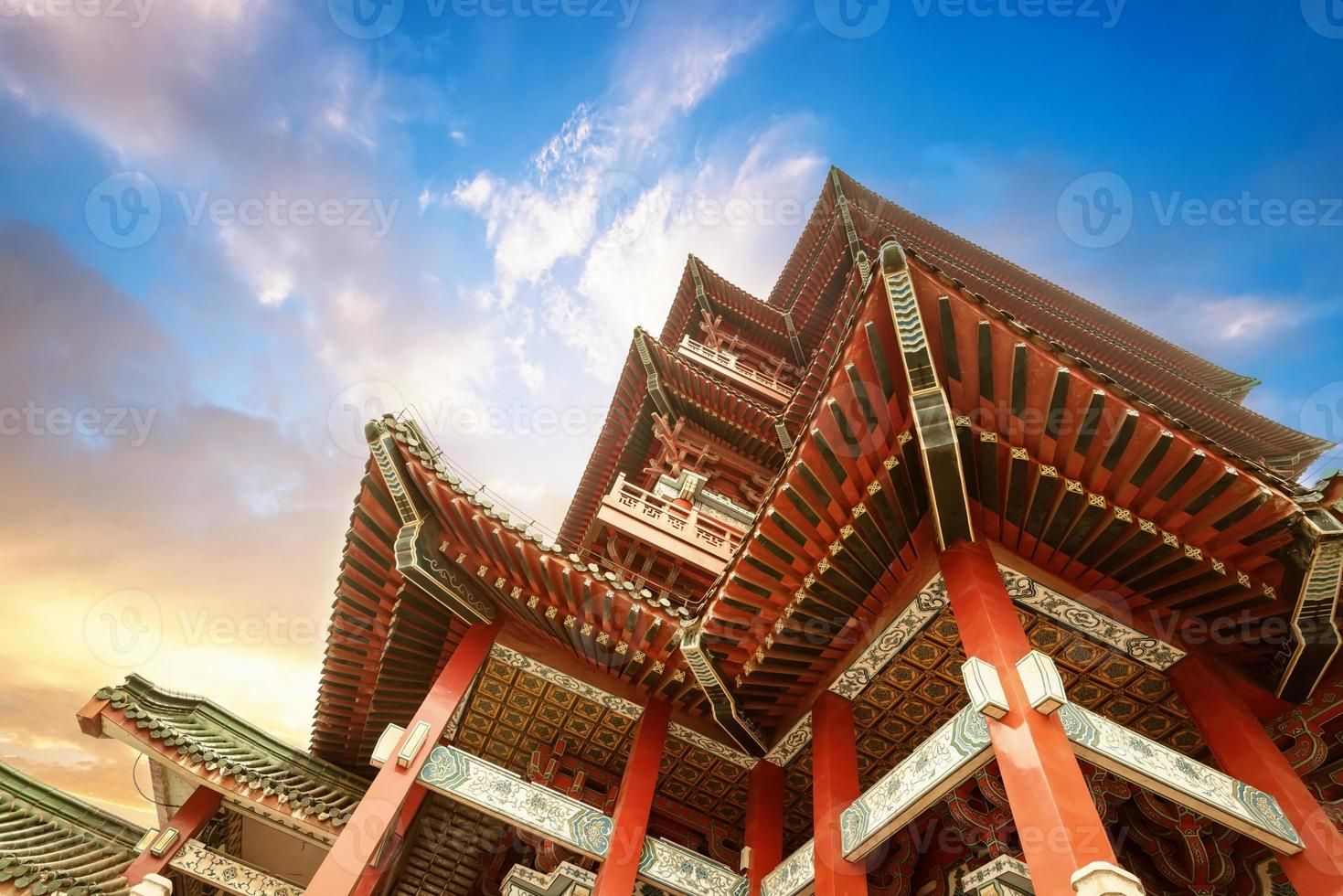 Chinese ancient architecture, ancient religious photo