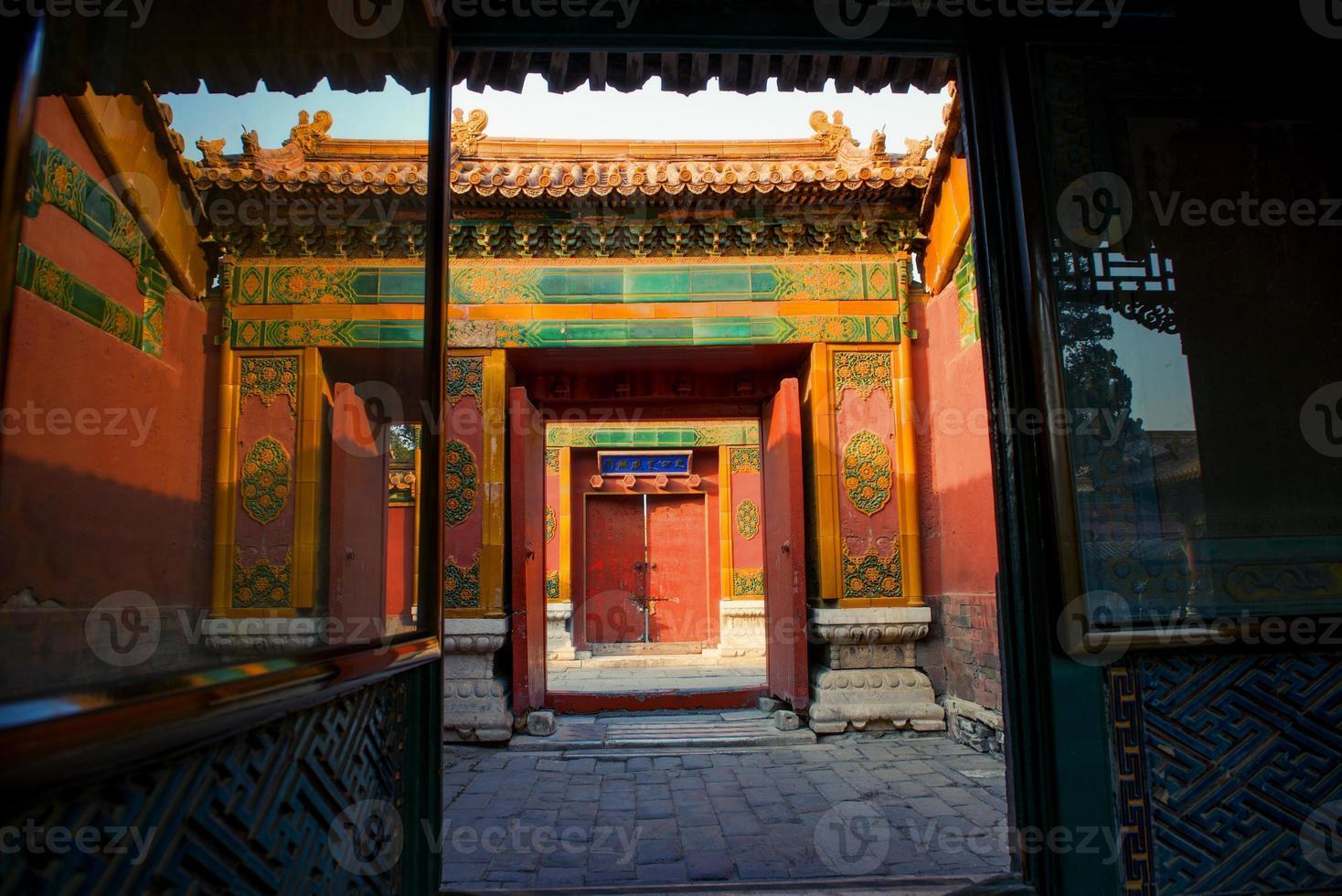 Forbidden city. Beijing, China photo