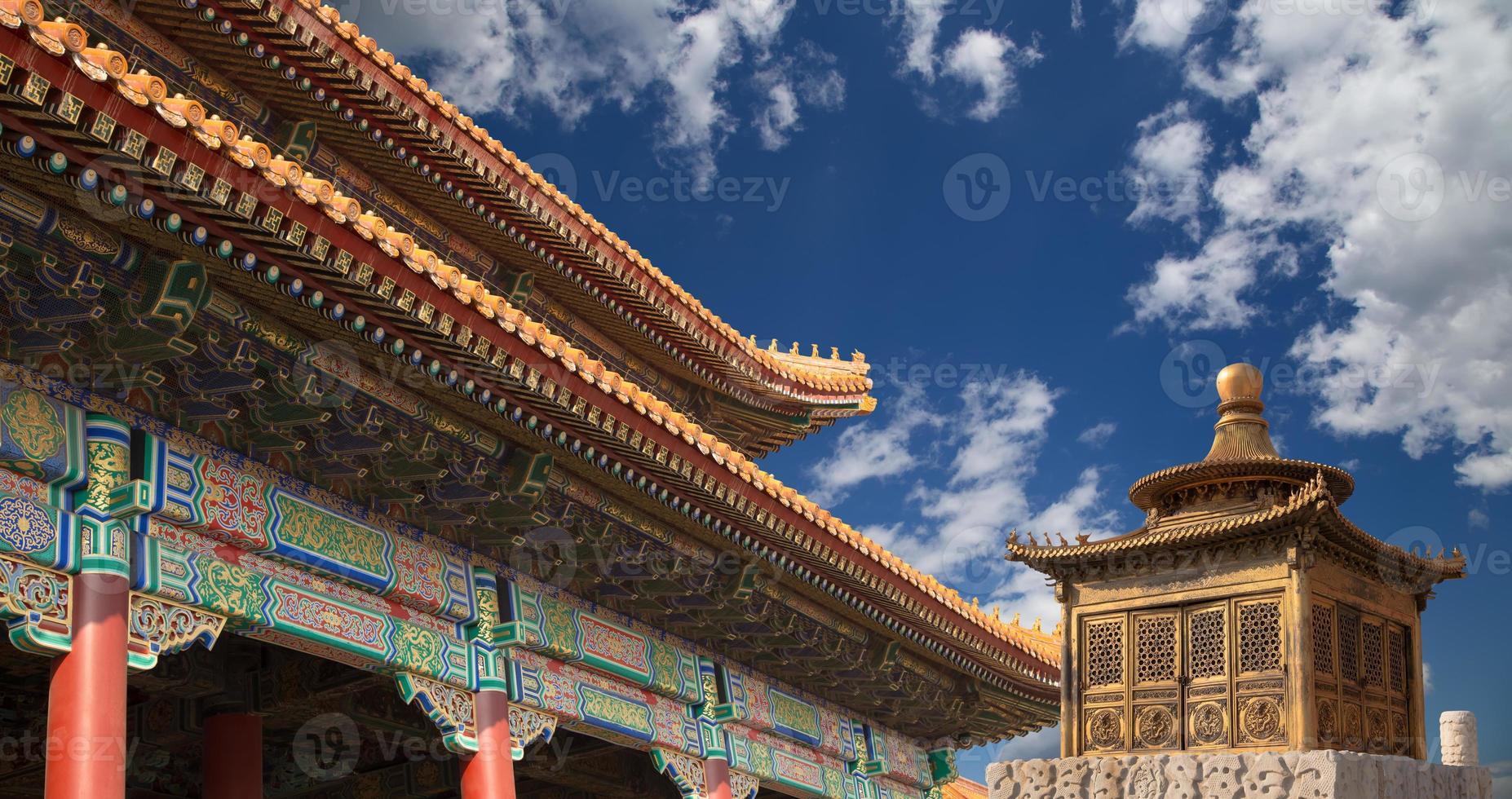 ciudad prohibida, beijing, china foto