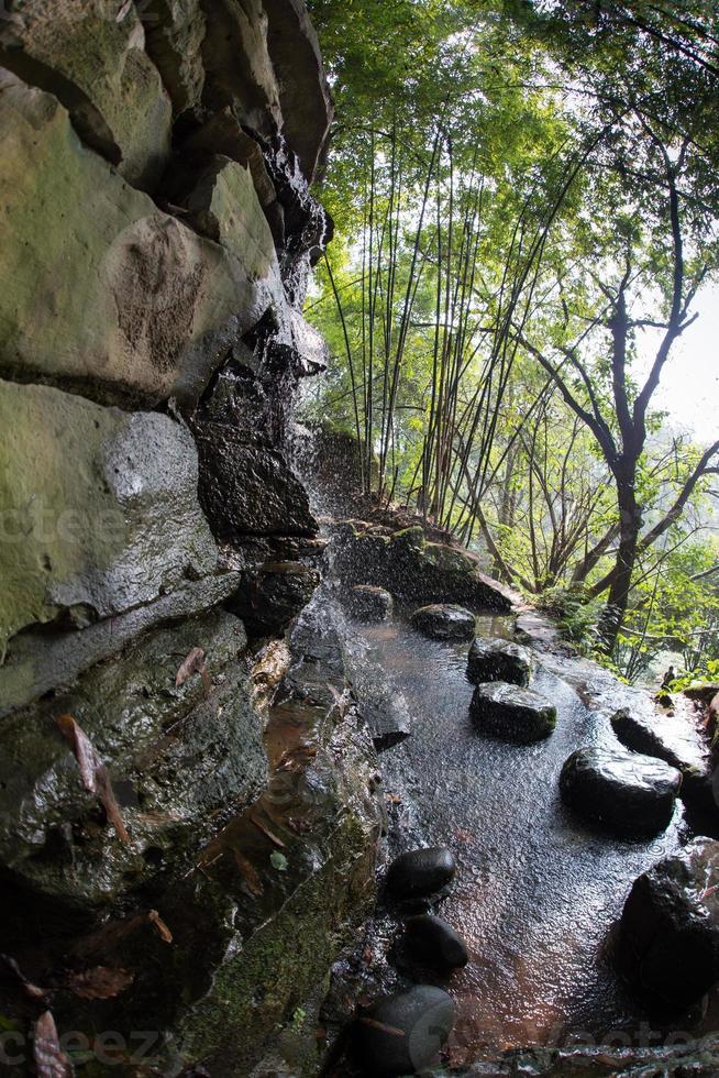 muy hermoso parque chino antiguo foto