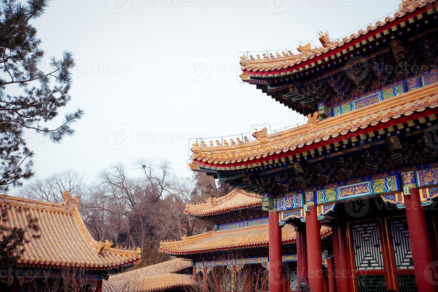 palacio de verano, beijing, china foto