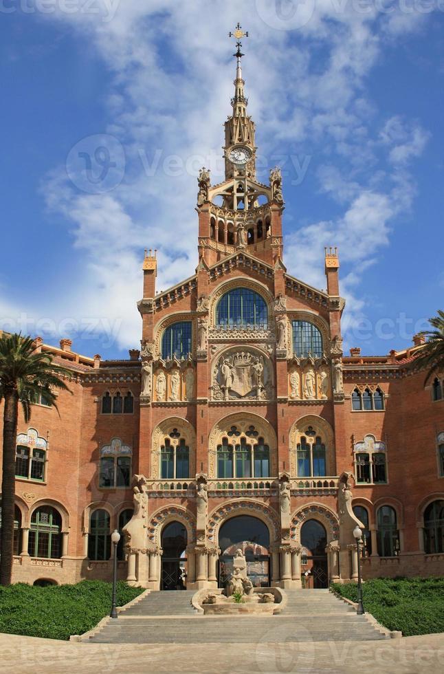 hospital de sant pau en barcelona foto