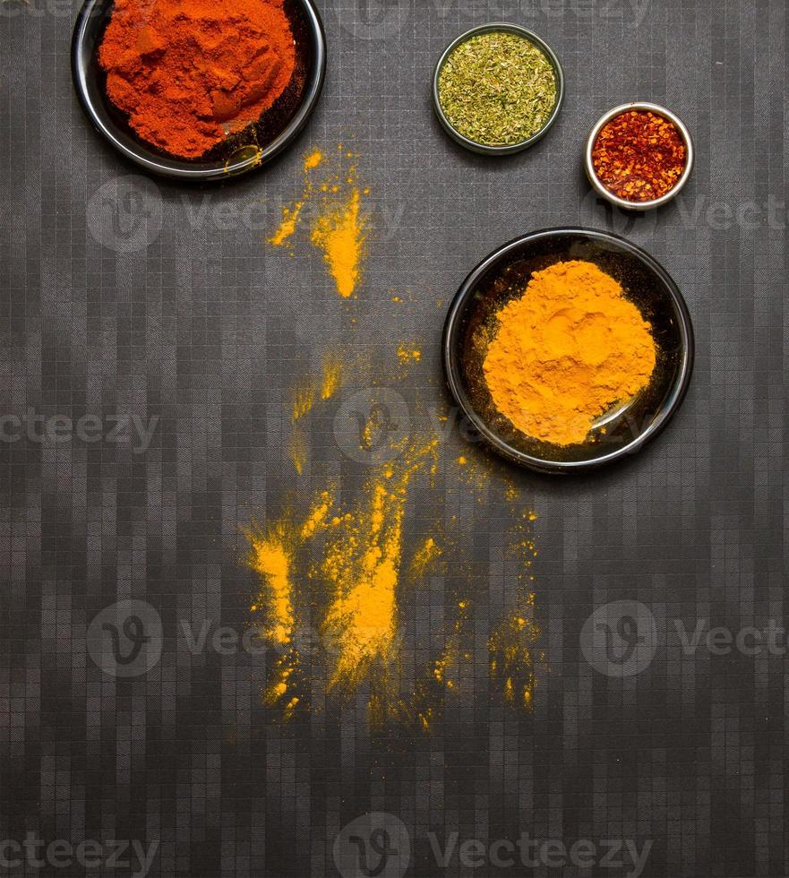 Spices for cooking and health. photo