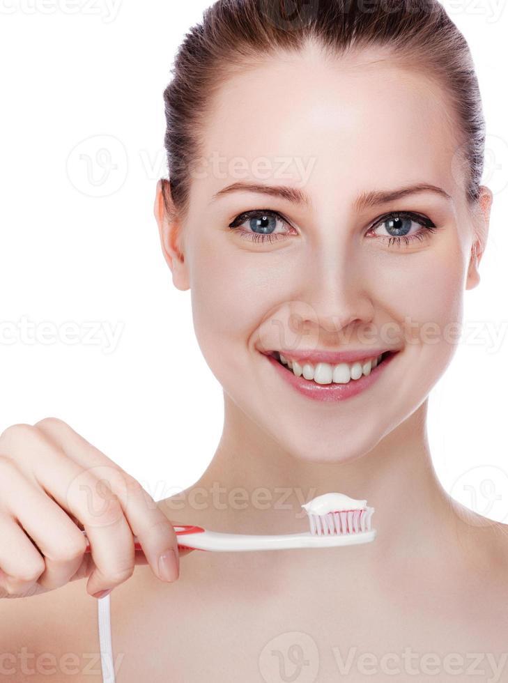 dientes sanos foto