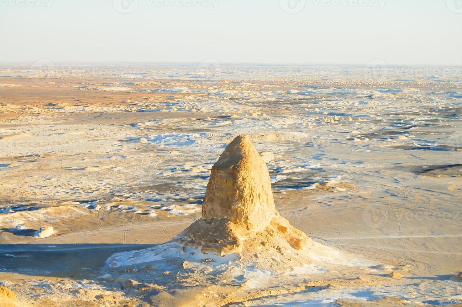 desierto blanco - egipto foto