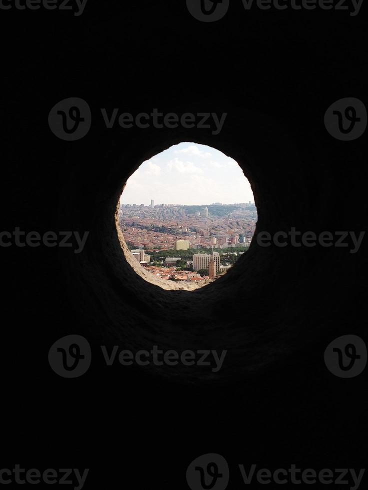 Ankara Castle hole photo