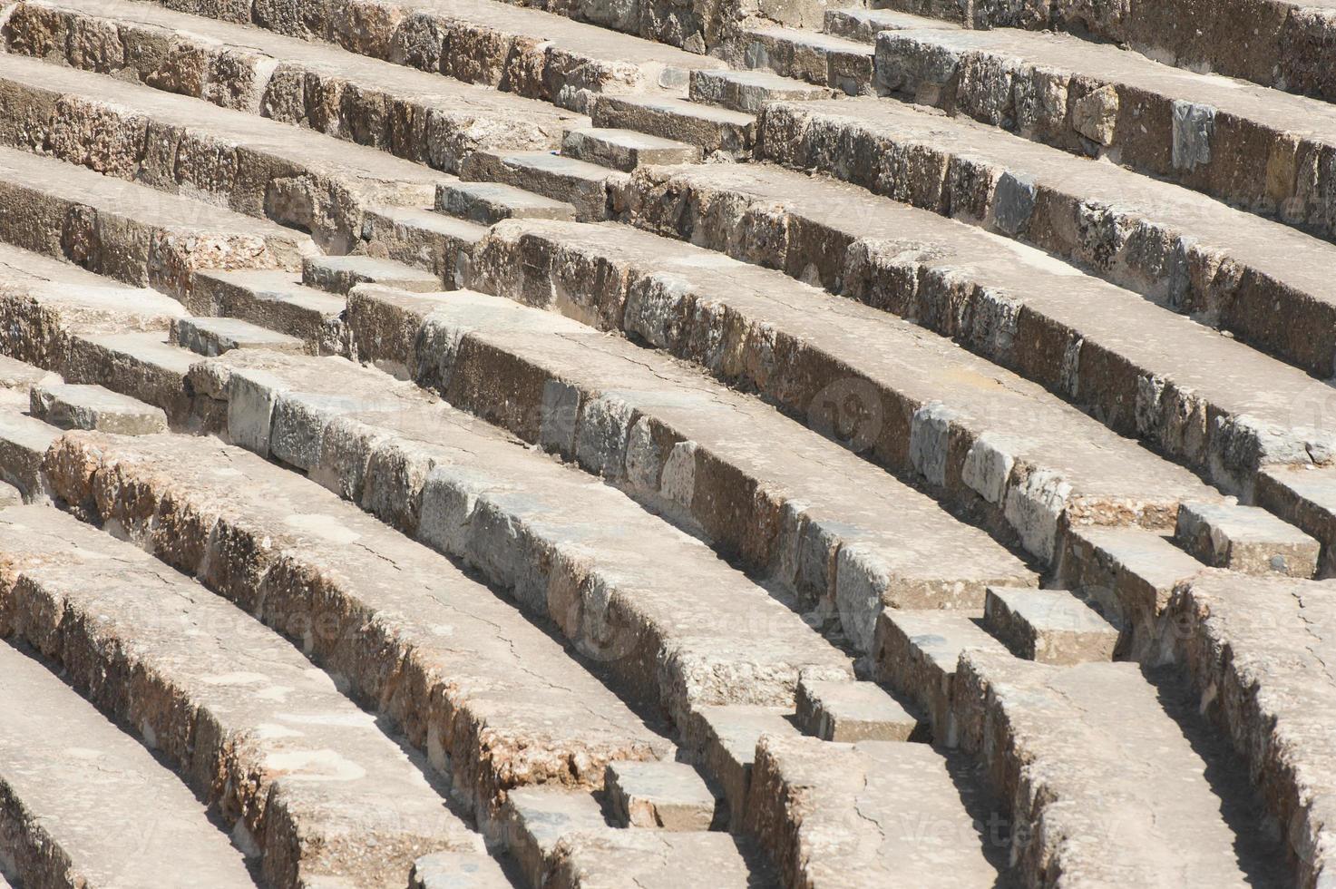 Amphitheater in Ephesus photo