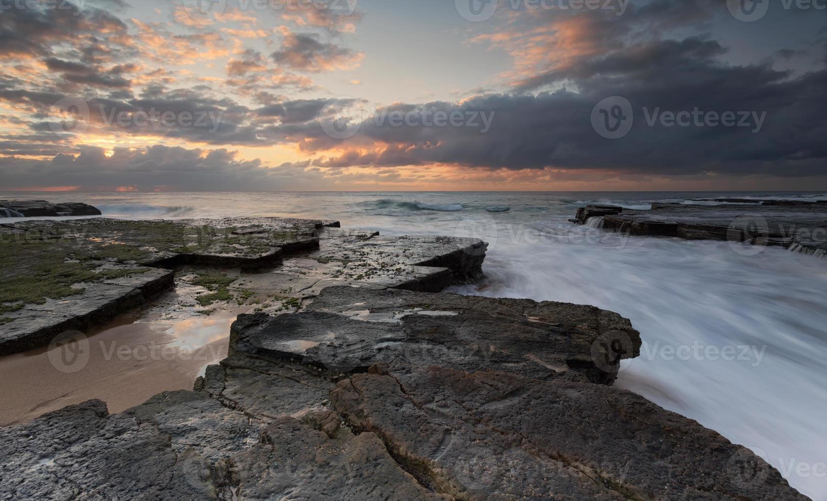 Turrimetta rockshelf Sydney Australia photo