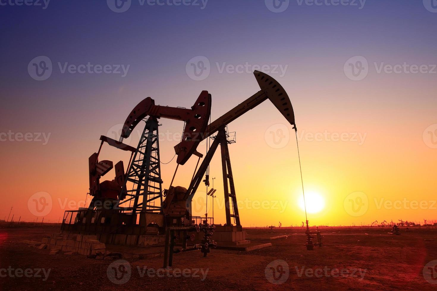 The oil pump photo