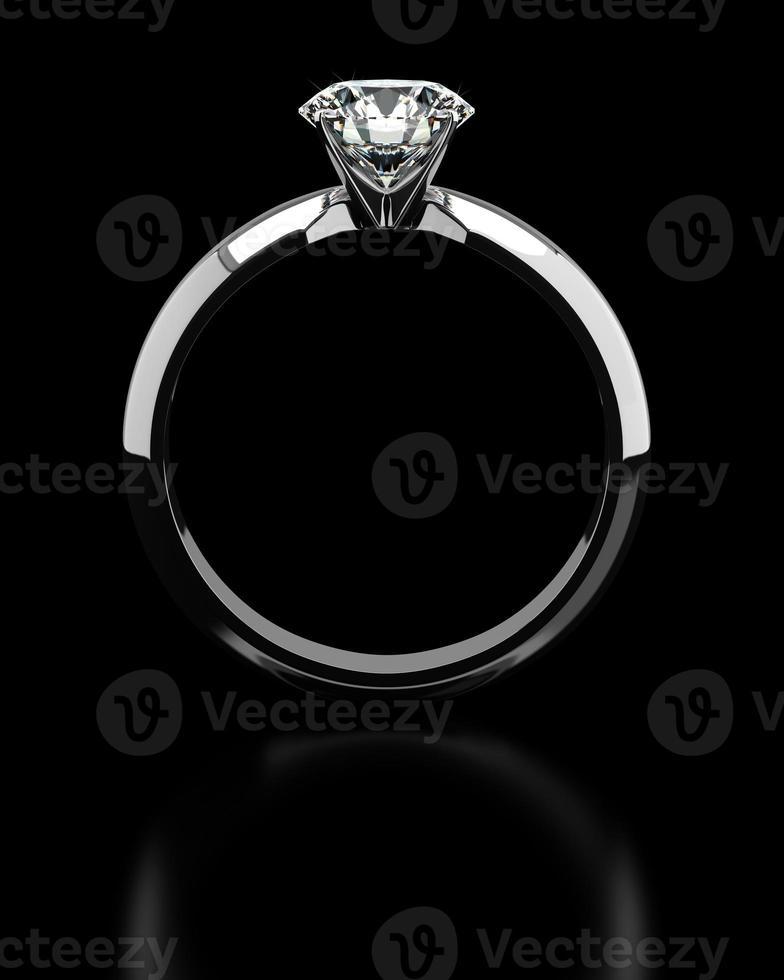 Single Diamond Ring photo