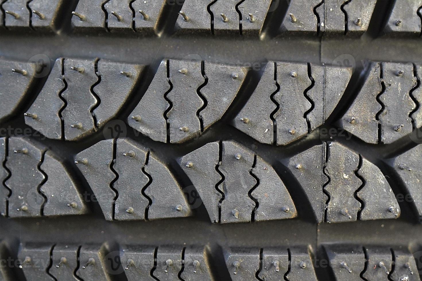 Car tire background photo