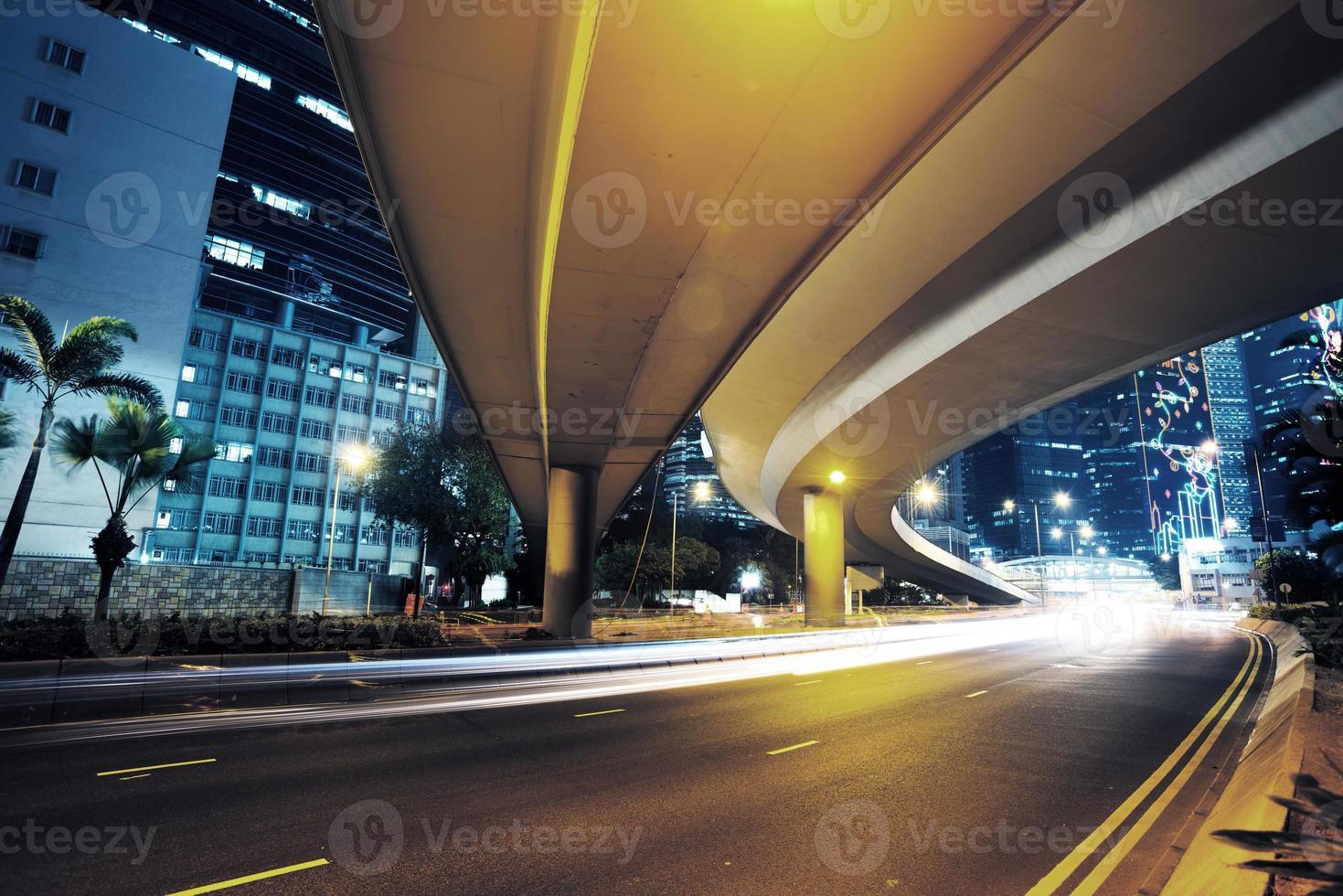 tráfico en hong kong foto