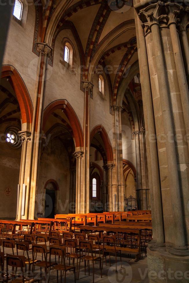 Basilica di Sant'Andrea, Vercelli, Piemonte, Italia photo