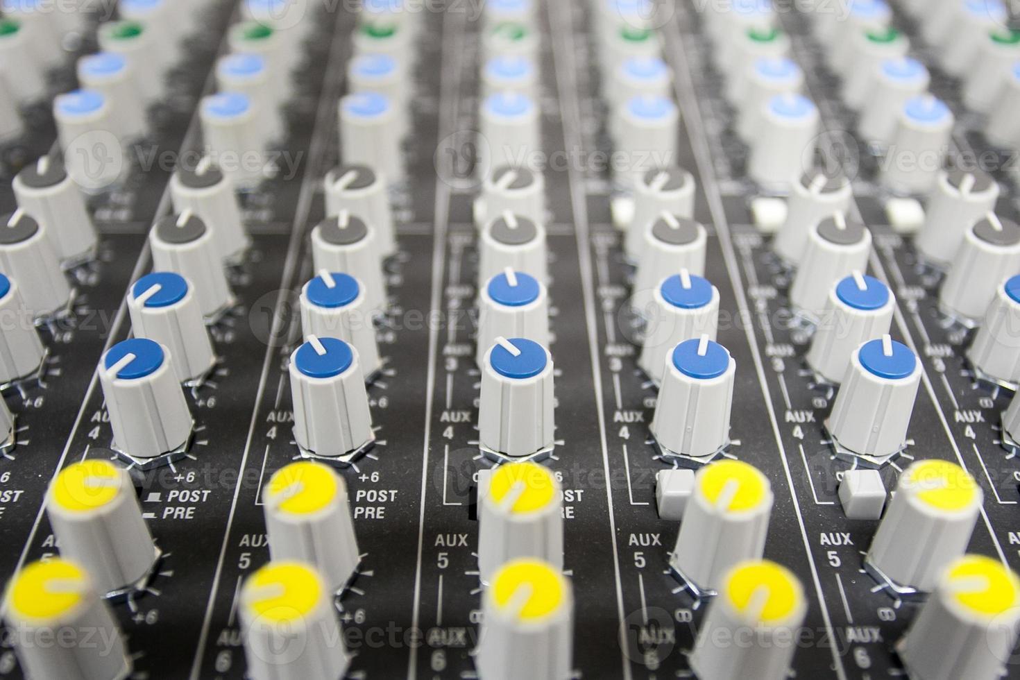 buttons control sound mixer photo