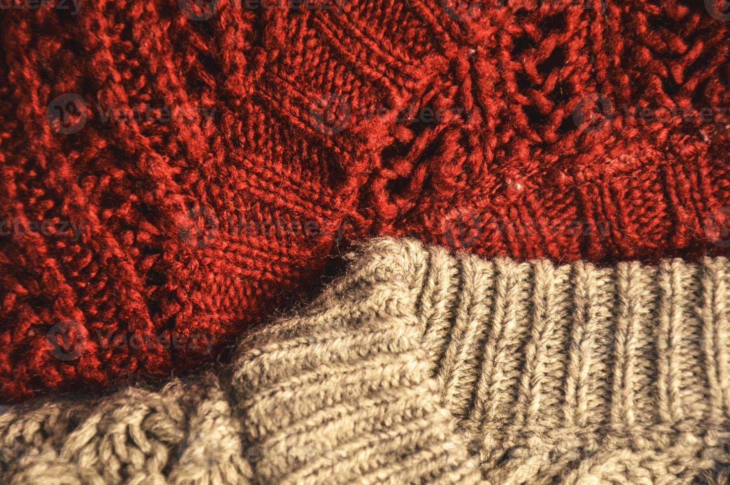 suéter de lana foto