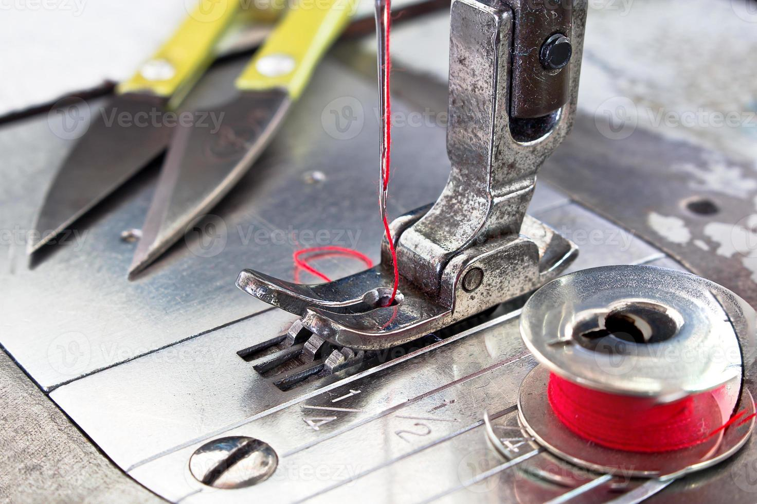 máquina de coser foto